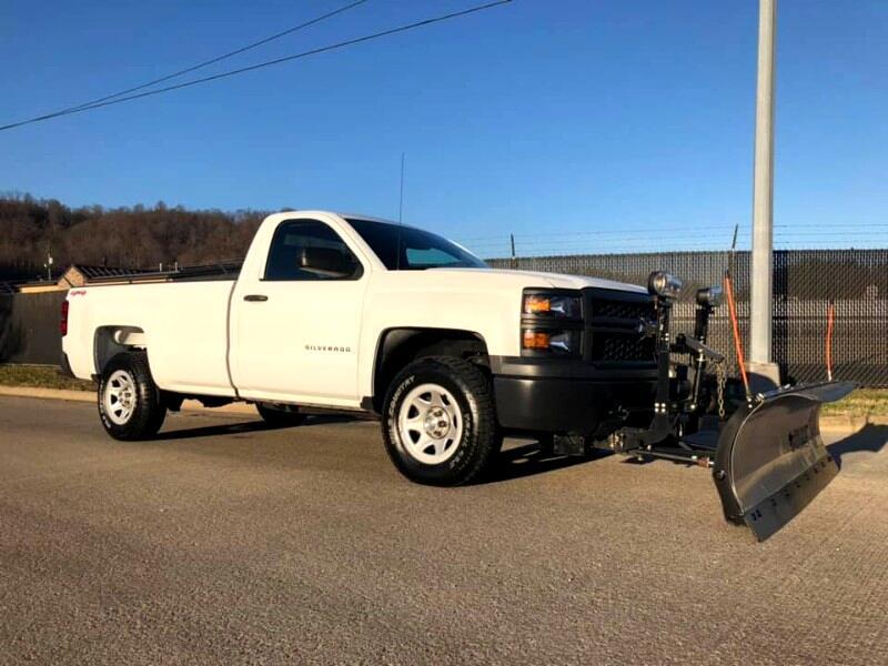 2014 Chevrolet Silverado 1500 Work Truck 1WT Regular Cab 4WD