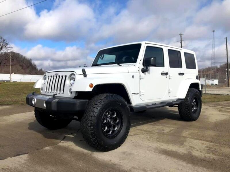 Jeep Wrangler Unlimited Sahara 4WD 2016