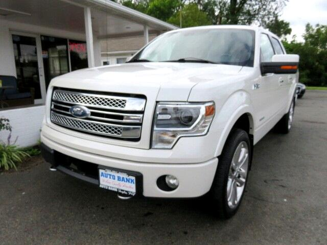 2013 Ford F-150 Limited SuperCrew 5.5-ft. Bed 4WD