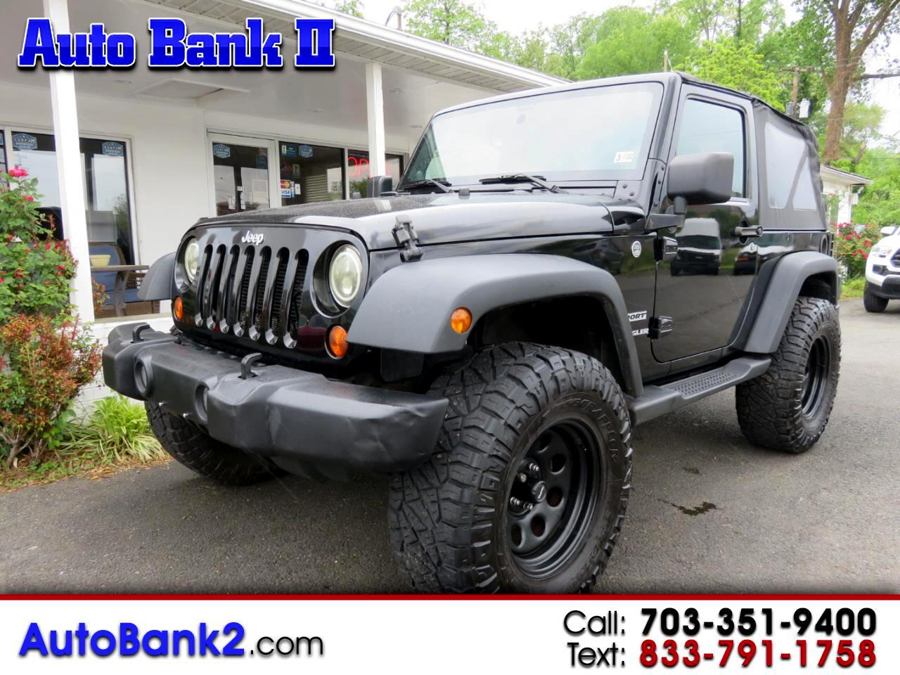 Jeep Wrangler Unlimited Sport 4WD 2013