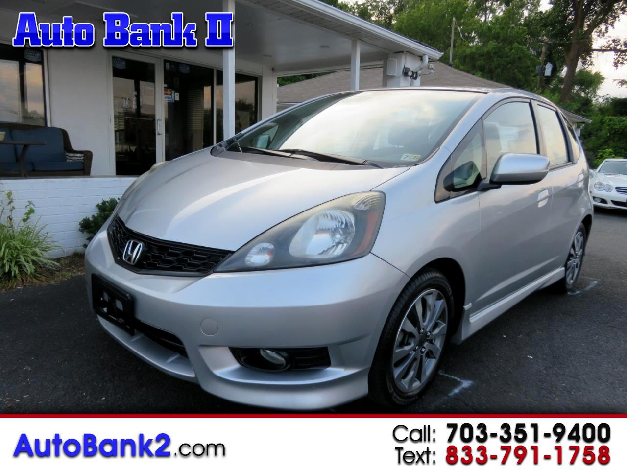 Honda Fit Sport 5-Speed AT with Navigation 2012
