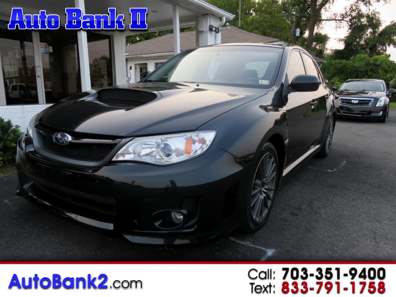 Subaru Impreza WRX 4-Door 2012
