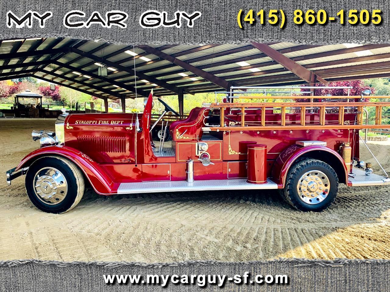 American LaFrance Fire Truck  1936