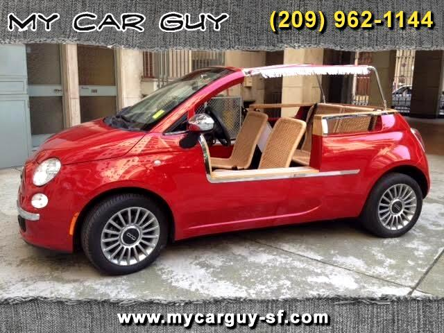 2012 Fiat 500 Jolly Conversion of Lounge Cabrio