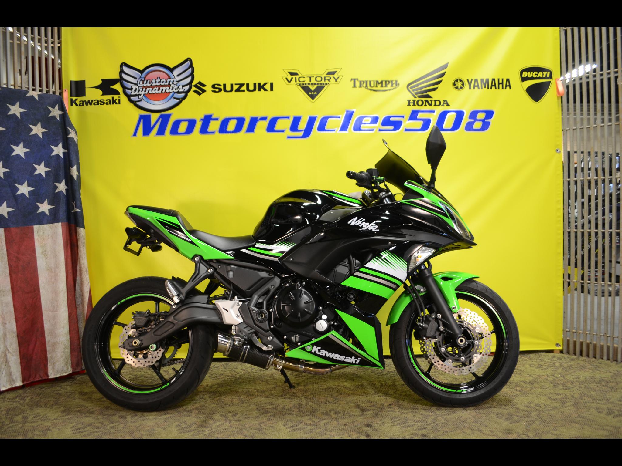 2017 Kawasaki Ninja 650R ABS KRT Edition