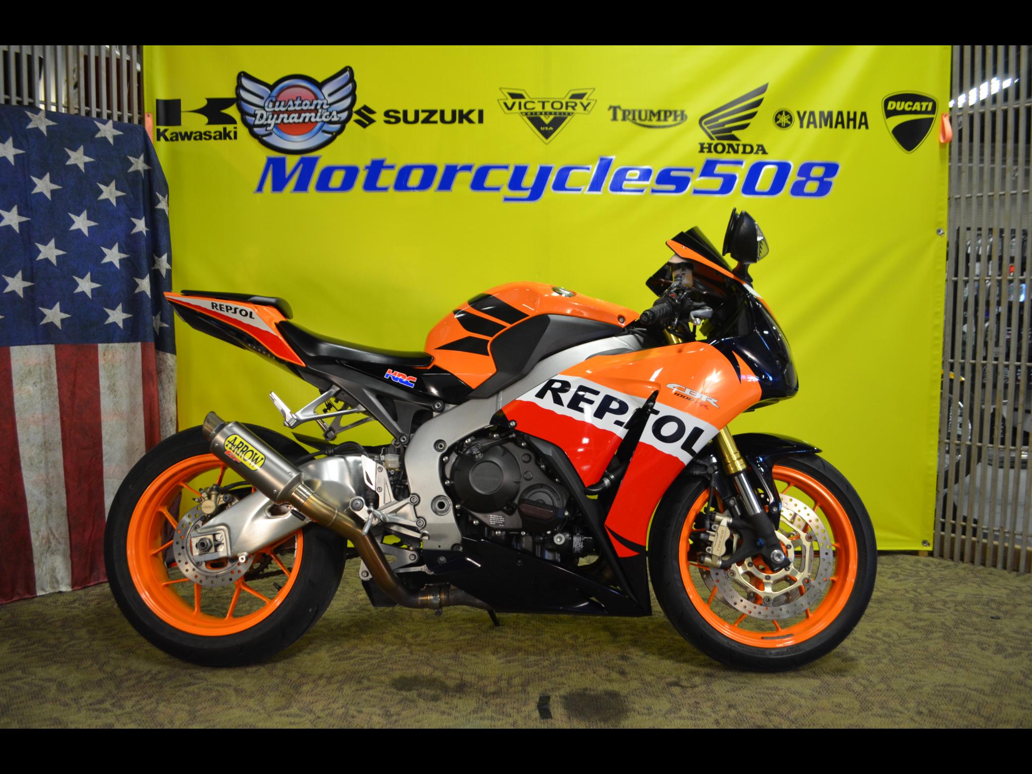 2013 Honda CBR1000RR Repsol
