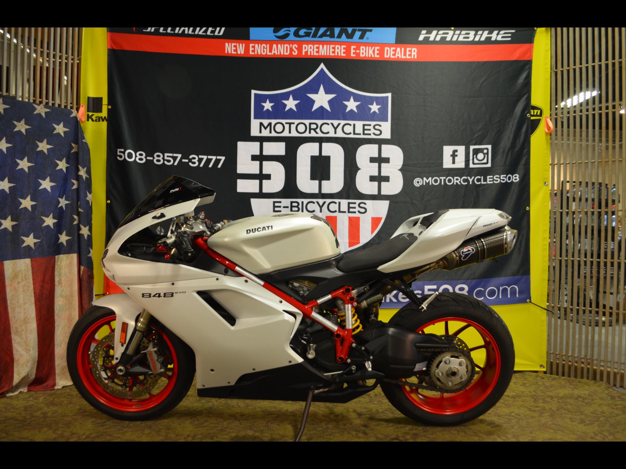 2012 Ducati 848 Evo Corse