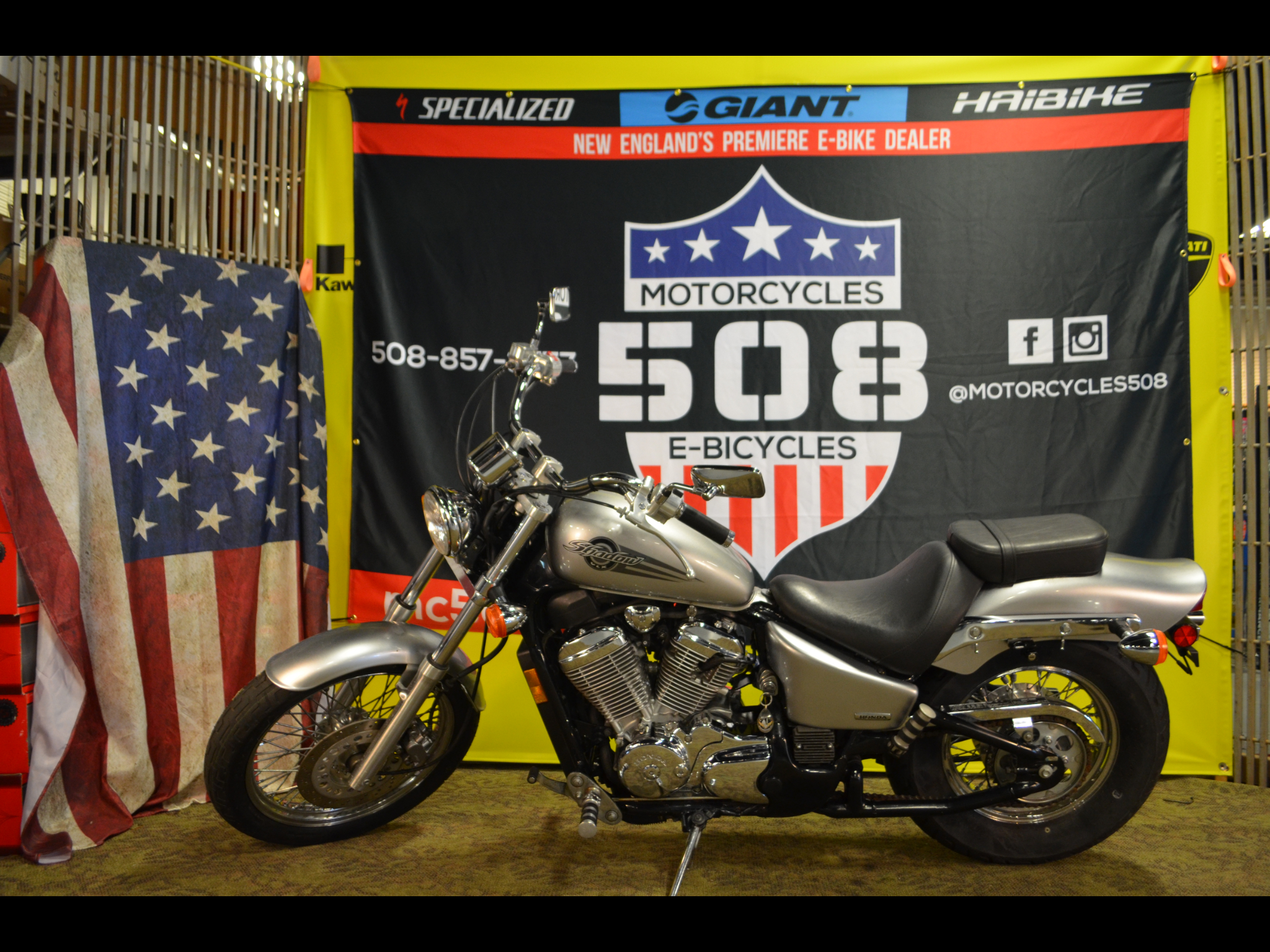 2006 Honda VT600C Shadow