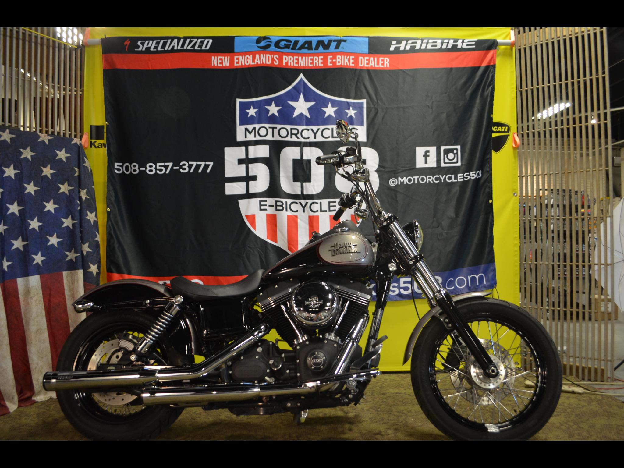2016 Harley-Davidson Dyna Street Bob FXDB