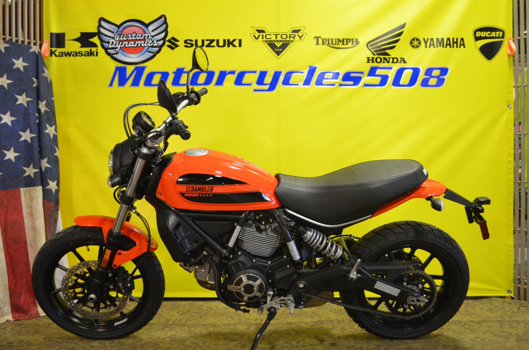 2018 Ducati Scrambler SIXTY2