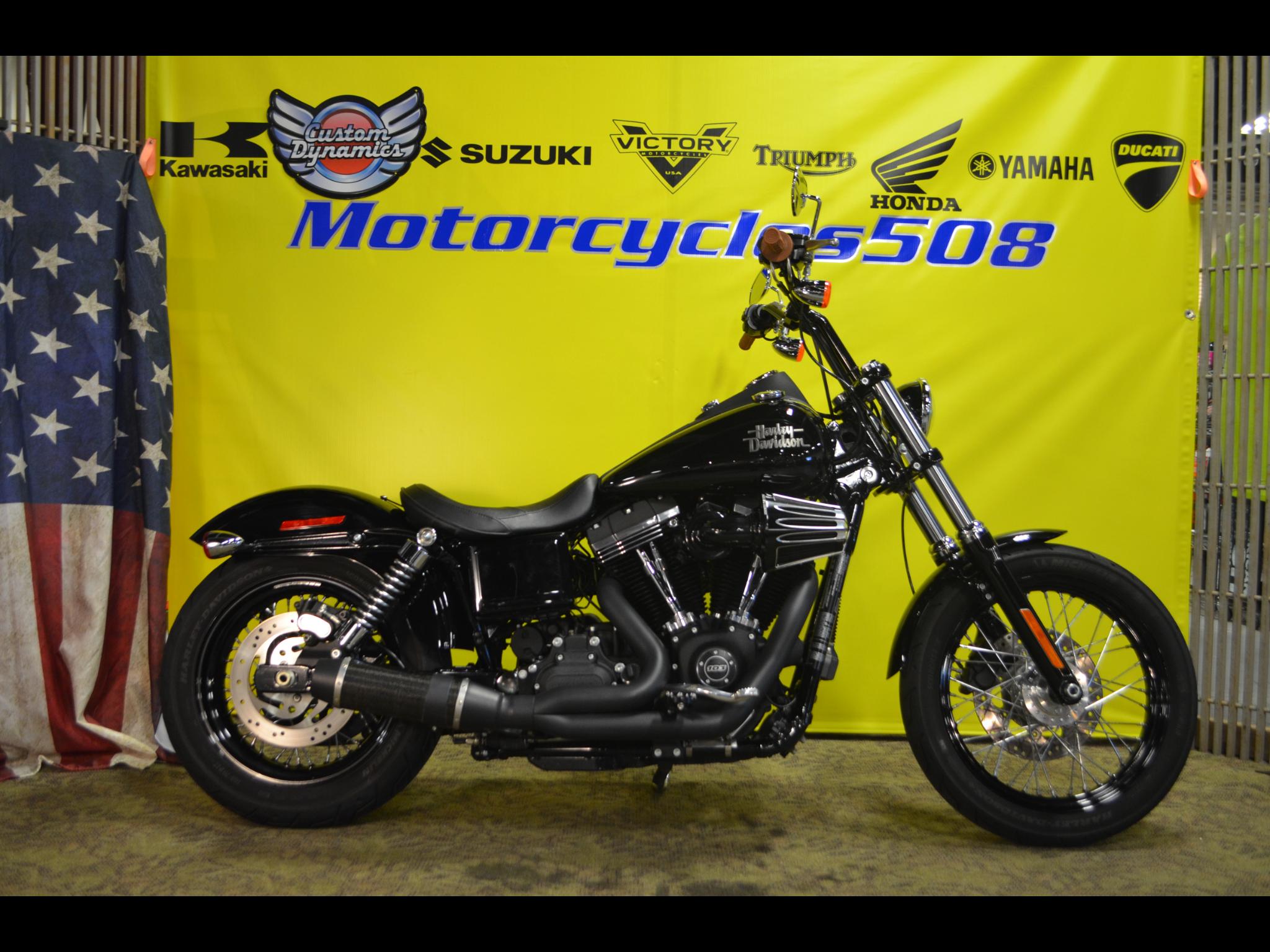 2017 Harley-Davidson Street Bob FXDB