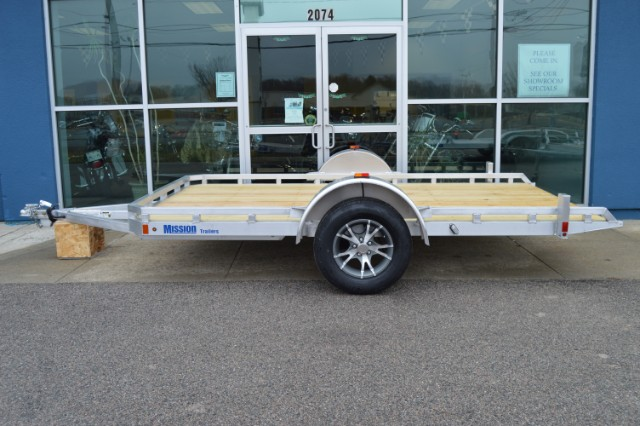 2016 Mission MU 6.5X12FW Utility trailer with tilt