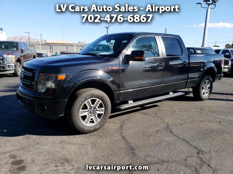 "2013 Ford F-150 4WD SuperCrew Flareside 157"" FX4"