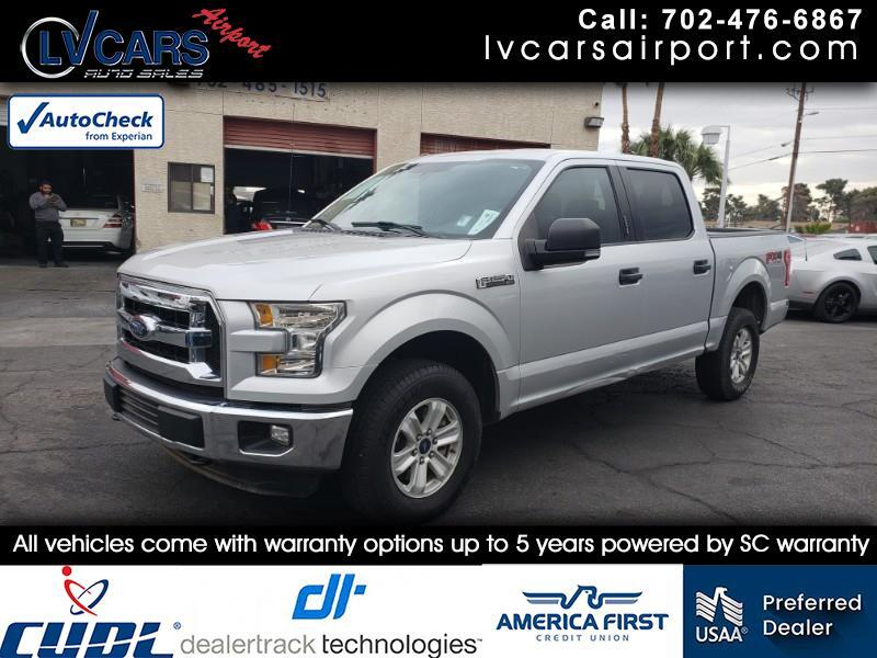 "2015 Ford F-150 4WD SuperCrew 145"" FX4"