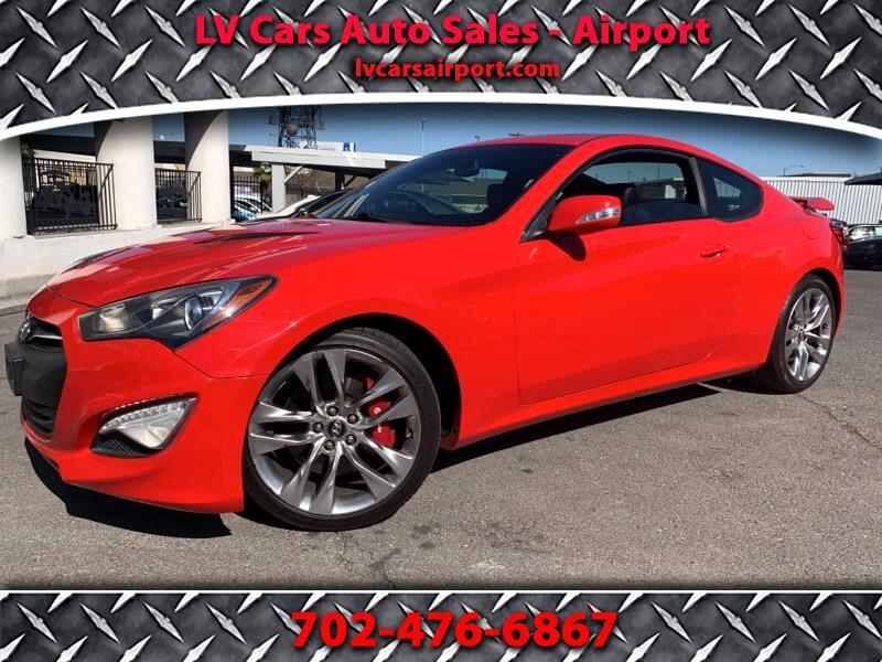2013 Hyundai Genesis Coupe 2dr 3.8L Auto Ultimate w/Black Seats