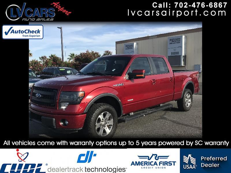 """2013 Ford F-150 4WD SuperCrew Flareside 150"""" FX4"""