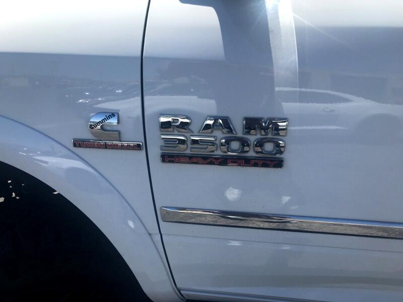 RAM 3500 Laramie Crew Cab LWB 4WD 2013