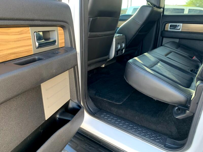 Ford F-150 Platinum SuperCrew 5.5-ft. Bed 4WD 2011
