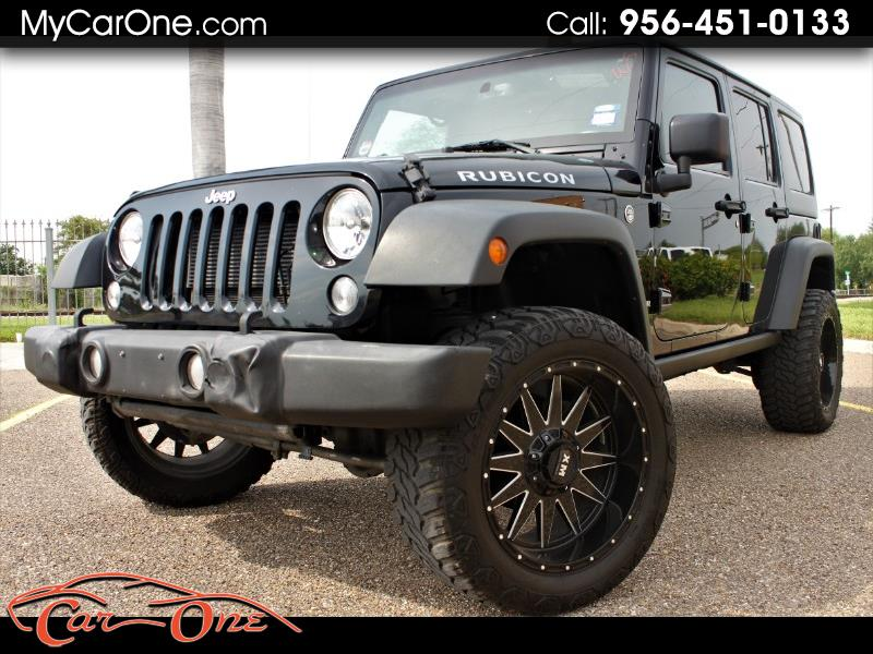 Jeep Wrangler Unlimited Rubicon 4WD 2016