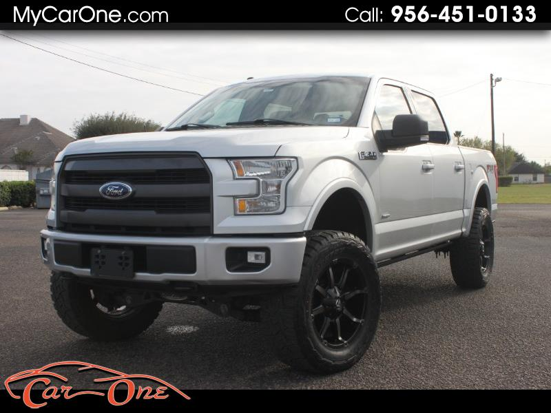 "Ford F-150 SuperCrew Crew Cab 139"" XLT 4WD 2016"