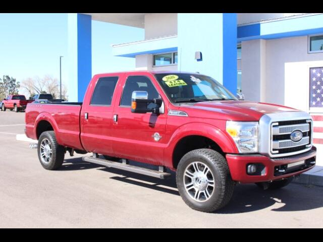 2016 Ford F-350 SD Platinum Long Bed 4WD
