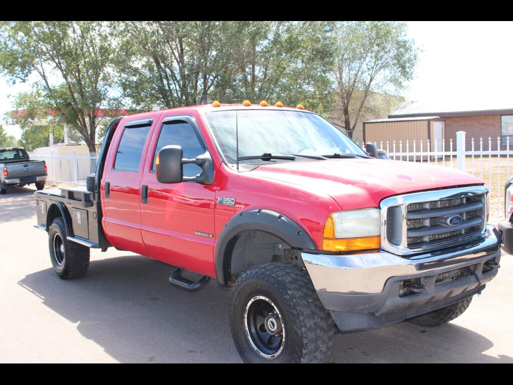 2001 Ford F-350 SD XL Crew Cab Long Bed 4WD
