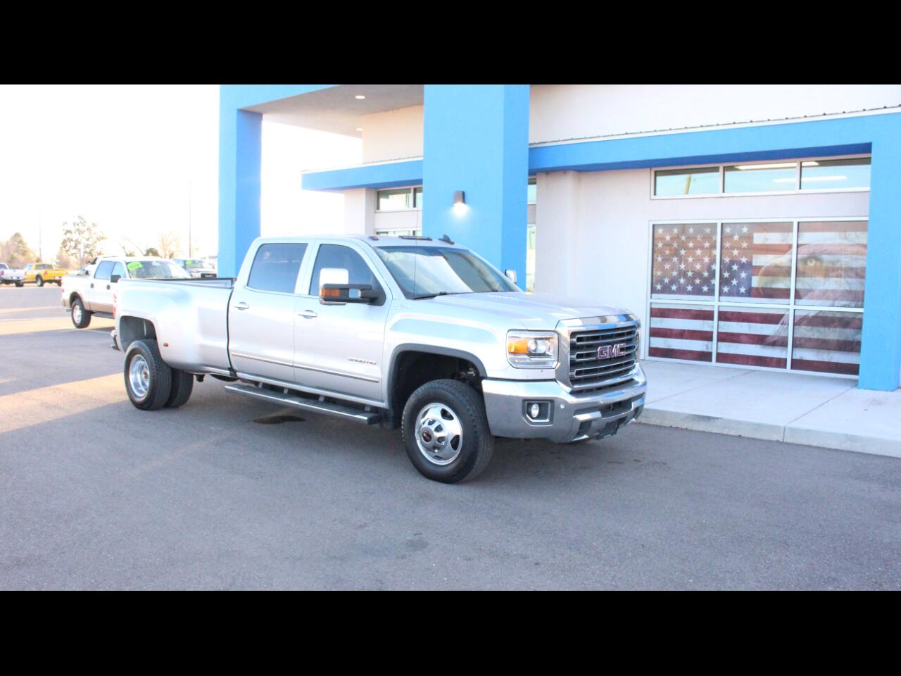 2016 GMC Sierra 3500HD SLT Crew Cab Long Box 4WD