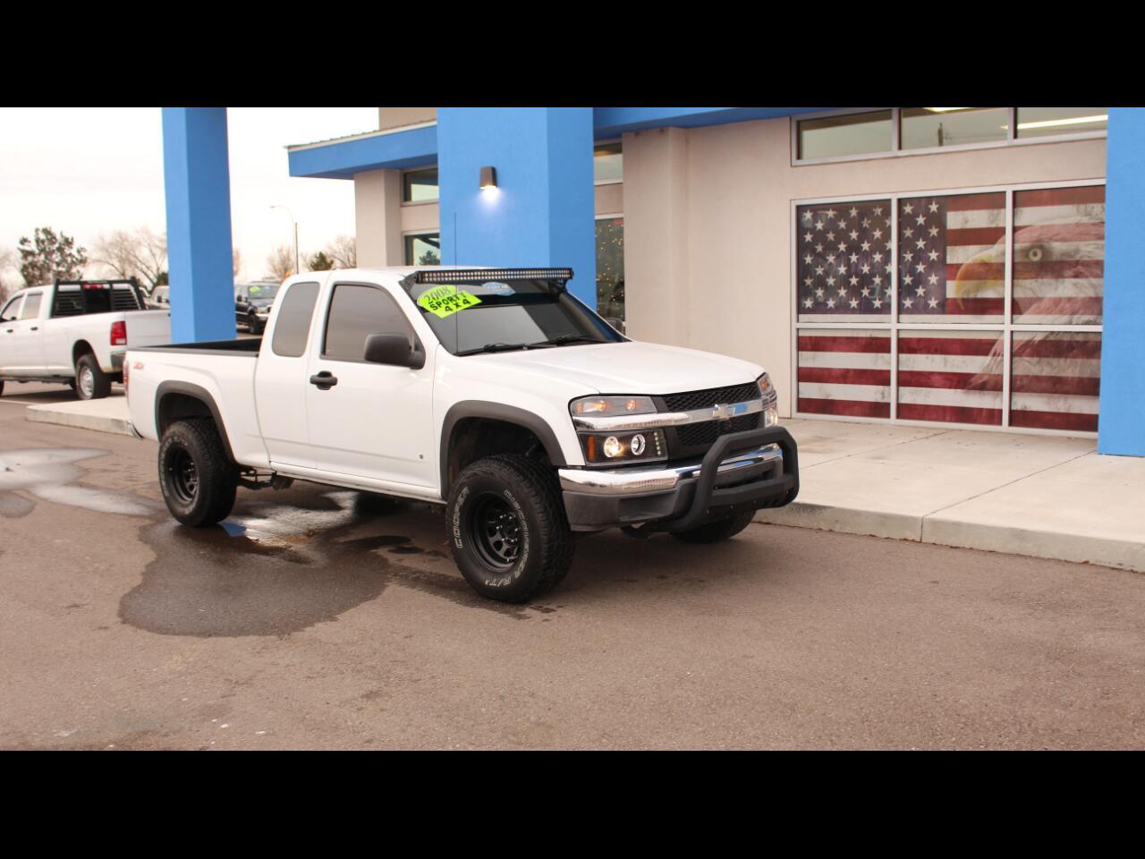 2008 Chevrolet Colorado Work Truck Ext. Cab 4WD