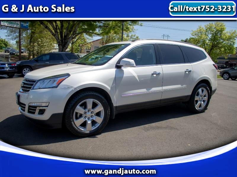 Chevrolet Traverse LTZ AWD 2013