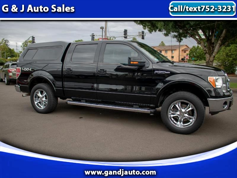 Ford F-150 Lariat SuperCrew 4WD 2009