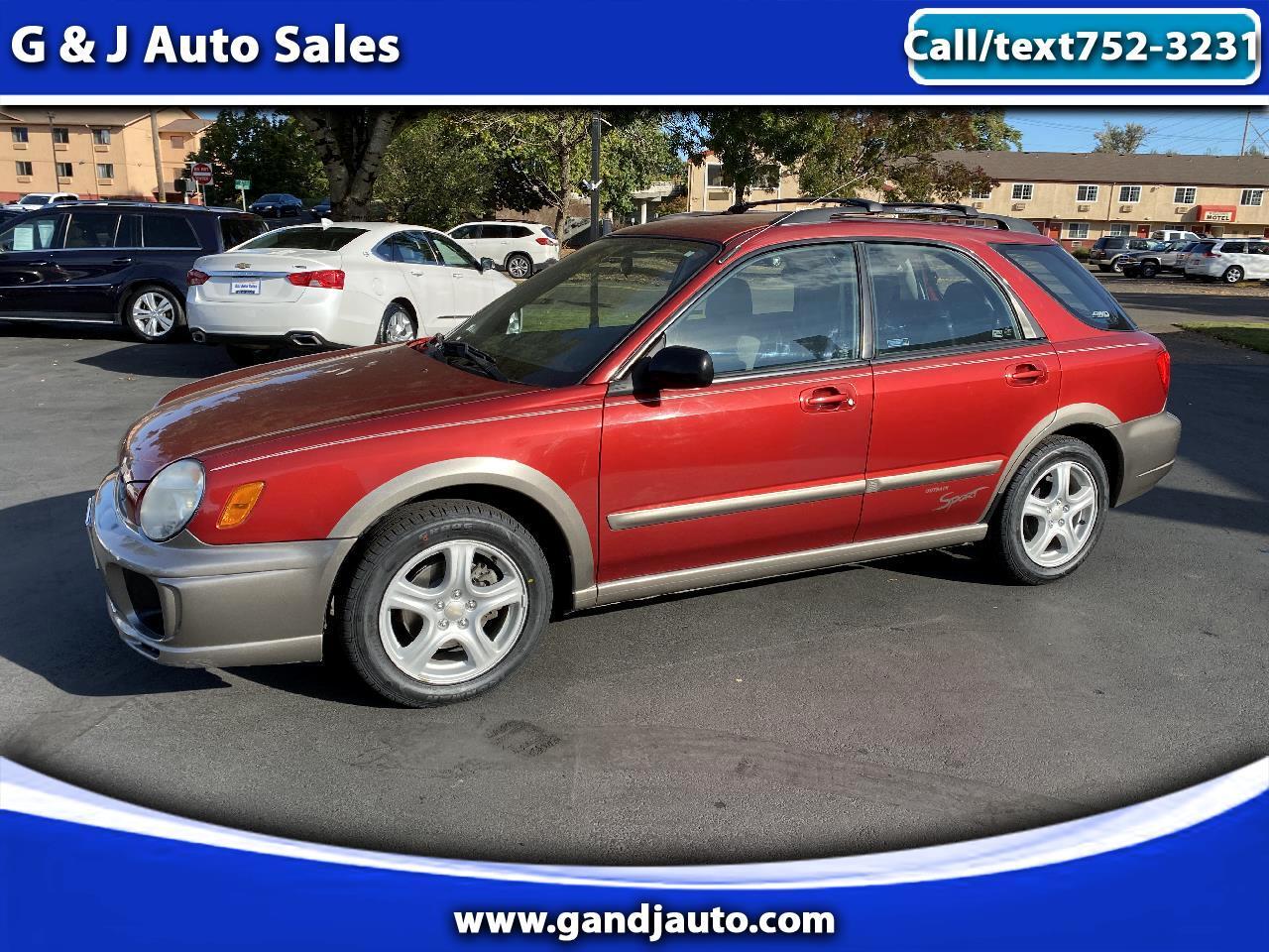 Subaru Outback 2.5i Wagon 2002