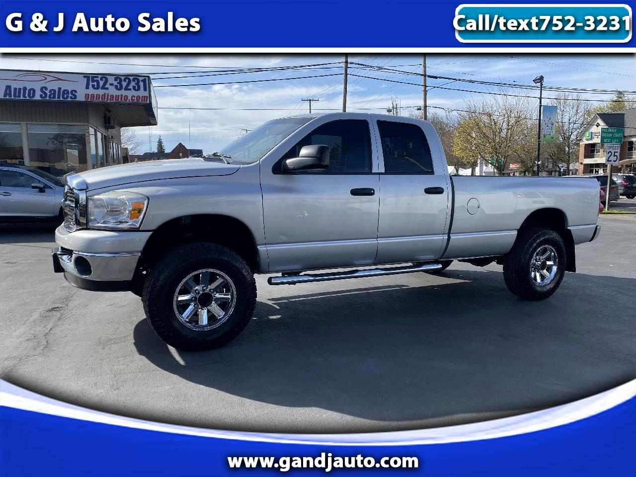 Dodge Ram 2500 Quad Cab Long Bed 4WD 2008