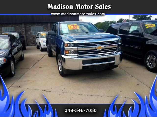 2015 Chevrolet Silverado 2500HD Work Truck Double Cab 2WD