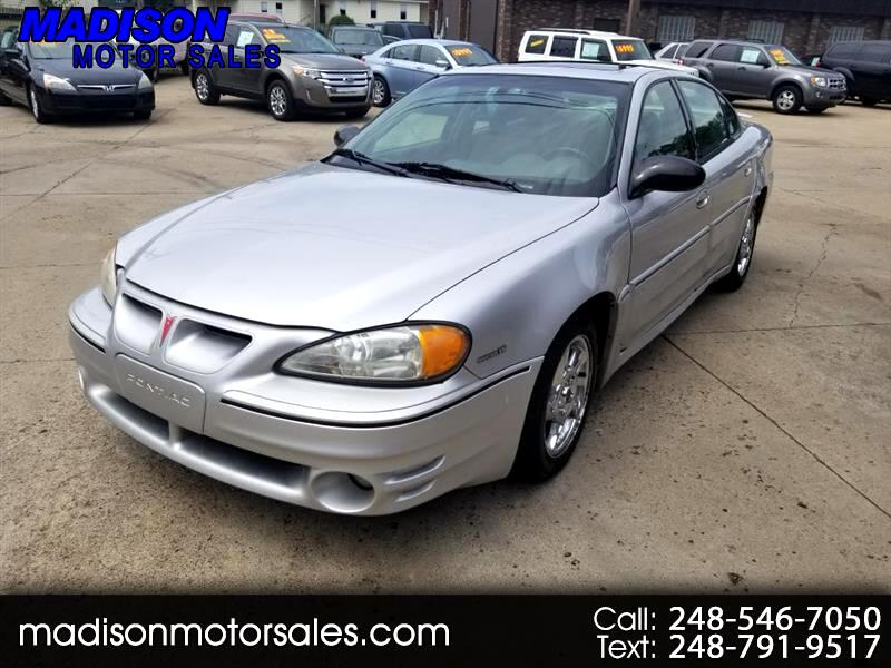 Pontiac Grand Am GT sedan 2003