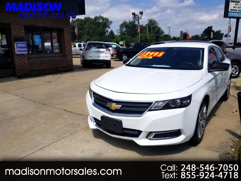 Chevrolet Impala LS Fleet 2015