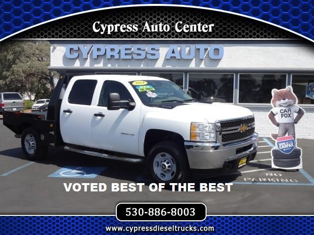 2014 Chevrolet Silverado 2500HD CREW CAB 4WD FLATBED