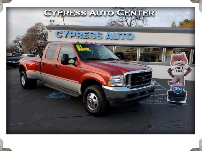 2001 Ford F-350 SD XLT Crew Cab Long Bed 4WD DRW