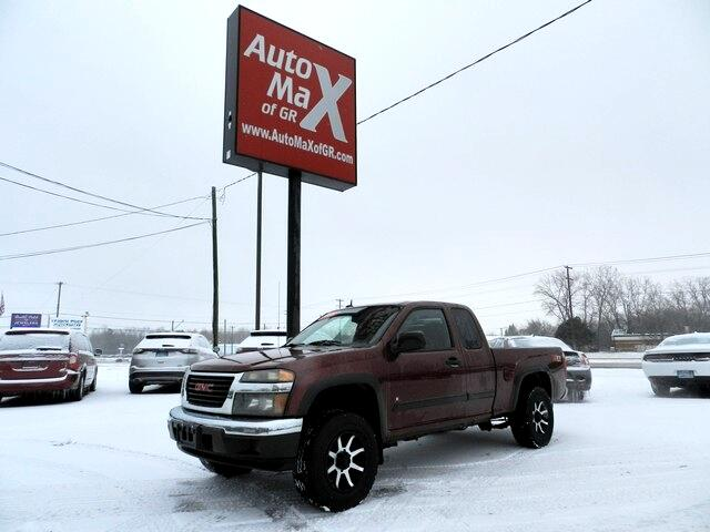 "GMC Canyon 4WD Ext Cab 125.9"" SLE2 2008"