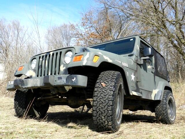 Jeep Wrangler 2dr SE 2000