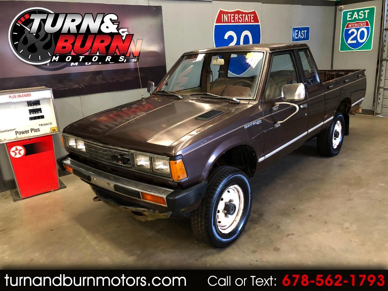 Datsun Pickup King Cab 4WD 1981