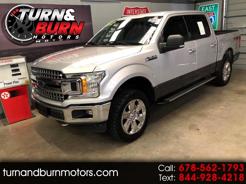 Ford F-150 FX4 SuperCrew 6.5-ft Box 4WD 2018