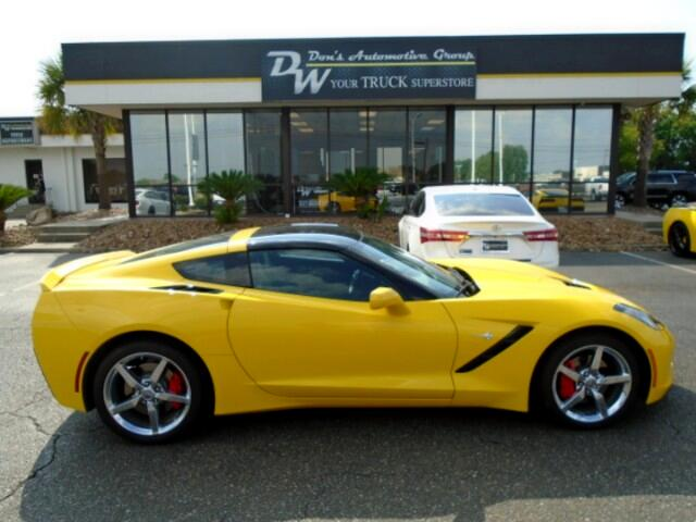 2014 Chevrolet Corvette Stingray 3LT Coupe Automatic