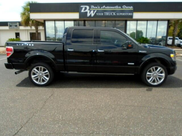 2014 Ford F-150 LIMITED SUPERCREW 6.5-FT BED 4WD