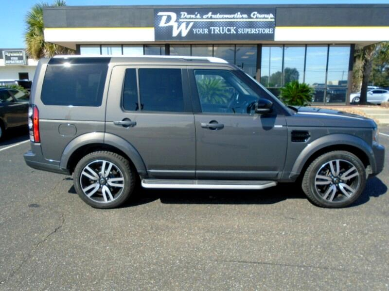 2016 Land Rover LR4 4WD 4dr HSE