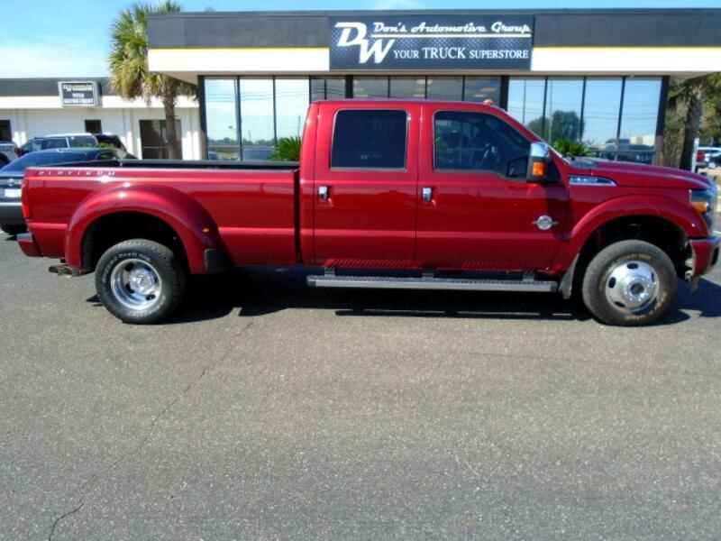 2016 Ford F-350 SD PLATINTUM CREW CAB 4WD