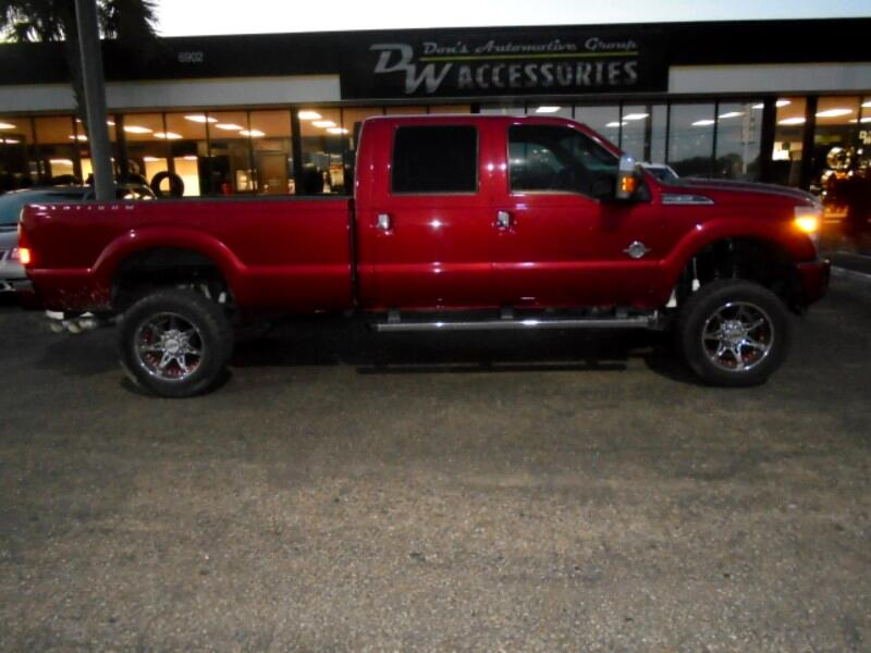 2014 Ford F-250 SD PLATINUM CREW CAB LONG BED 4WD