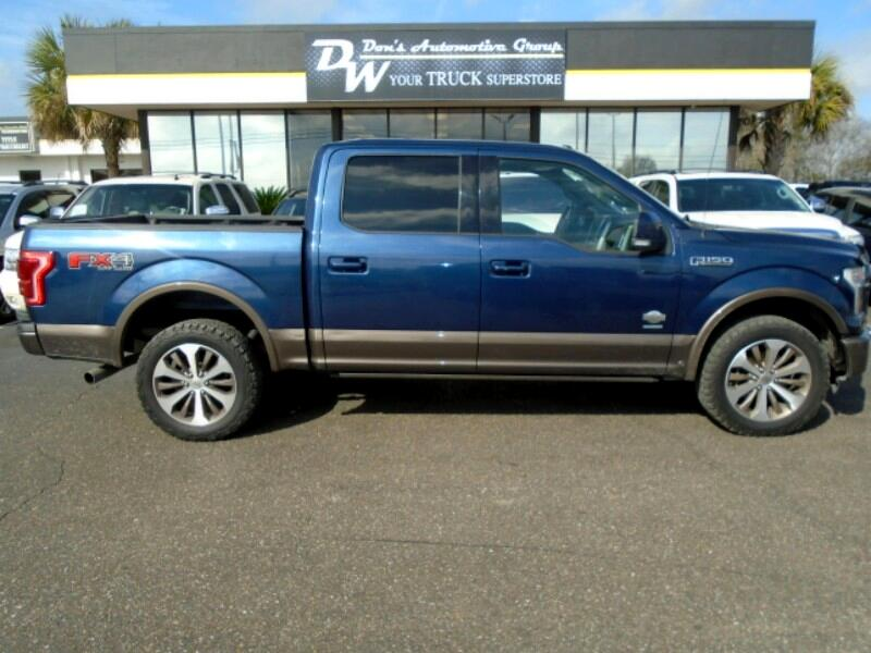 2015 Ford F-150 King Ranch SuperCrew 6.5-ft. Bed 4WD