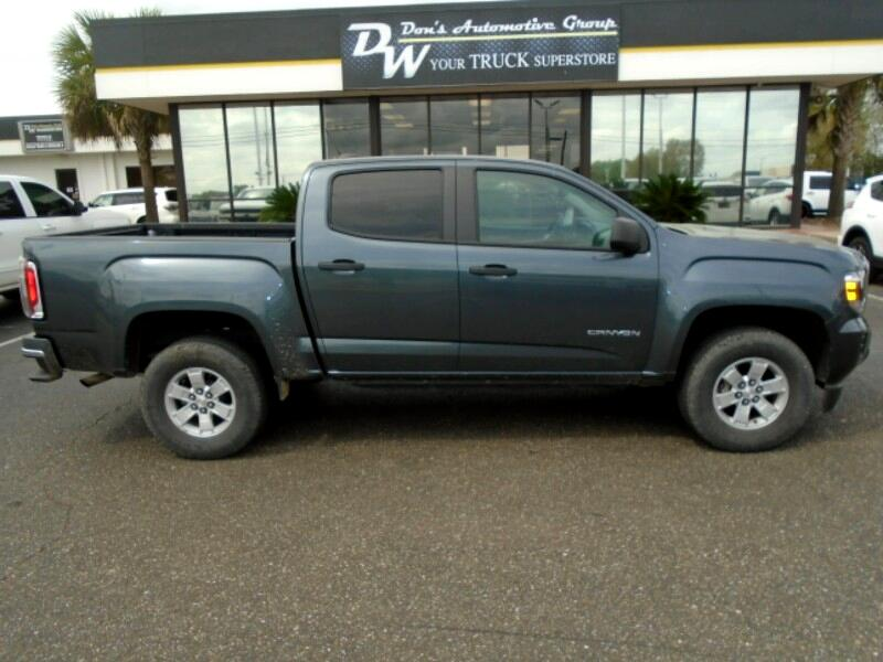 2015 GMC Canyon Base Crew Cab 2WD Short Box