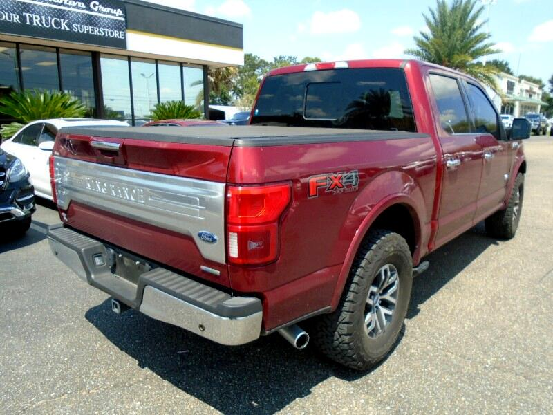 2018 Ford F-150 King Ranch SuperCrew 6.5-ft. 4WD