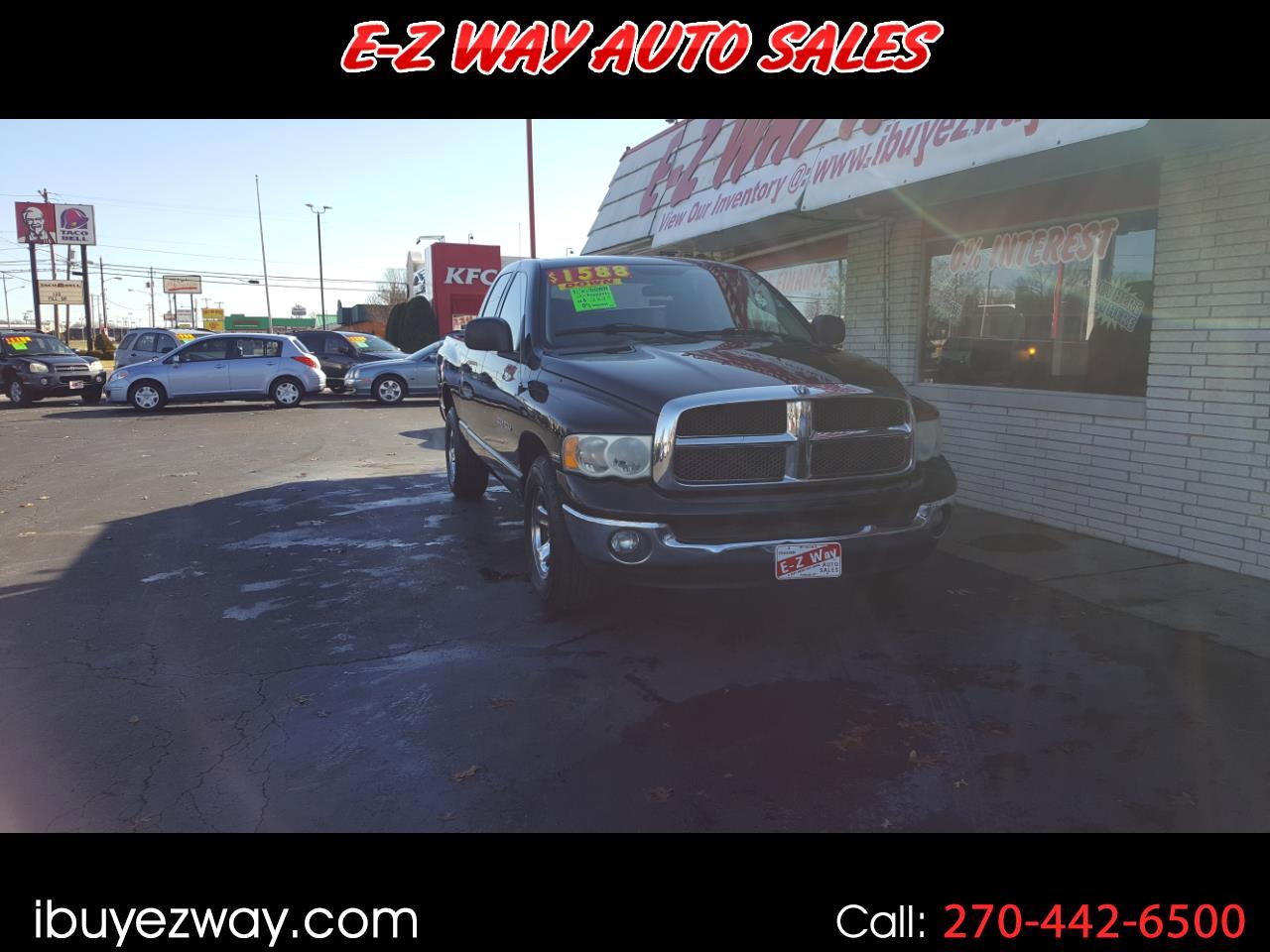 2003 Dodge Ram 1500 ST Quad Cab Long Bed 2WD